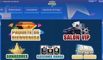 euromania casino codigo promocional