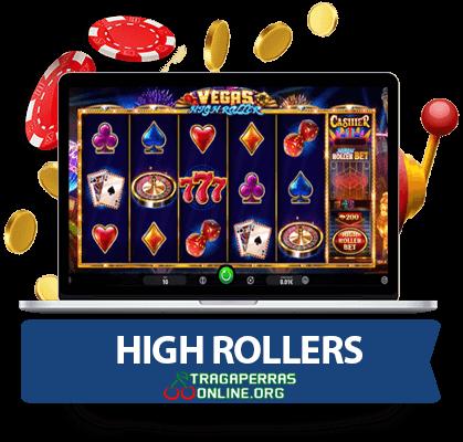 casinos online para high rollers