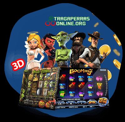 jugar a tragaperras 3D en casinos online